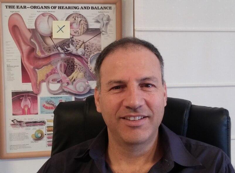 """ד""""ר עוז צור פיזיותרפיסט מומחה באבחון וטיפול בבעיות סחרחורת"""
